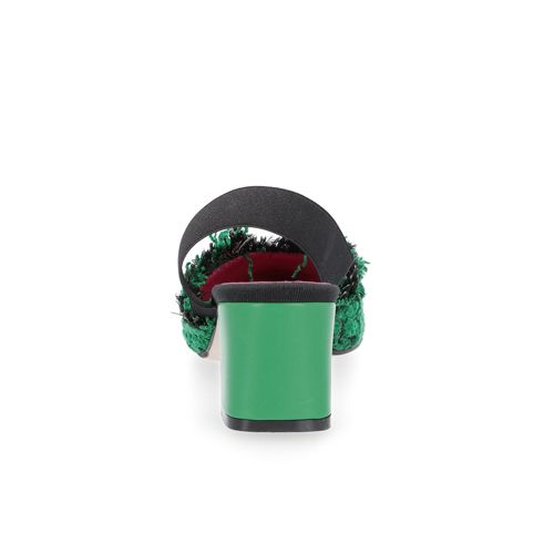Le Babe Sandalo made in Italy in tessuto jacquard - QVC Italia 80a18586831