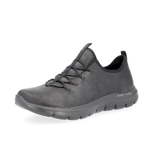 aeb91f18613 SKECHERS Sneaker Flex Appeal 2.0 con lacci elastici e Memory Foam - QVC  Italia