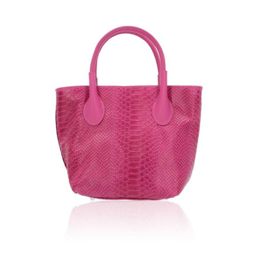 c2331df4a7 Le Corone Bags Borsa made in Italy in pelle stampa pitone - QVC Italia