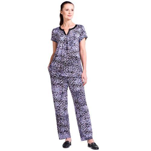 Carole Hochman Completo in viscosa  pantaloni e tunica - QVC Italia 38bc5029a4e