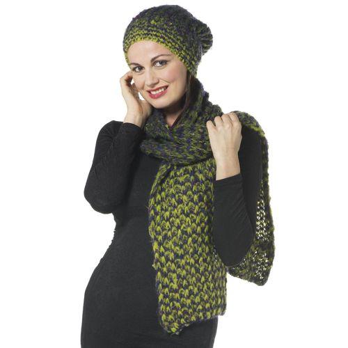 Via dei Tintori Set 2 pezzi  sciarpa e cuffia multicolor - QVC Italia e761857166f2