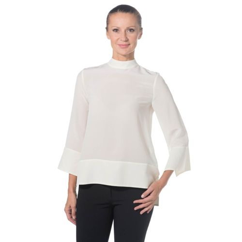 COLOUR LAB Blusa made in Italy in pura seta 4de1d774ba7