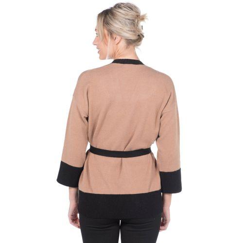 c30350ea4b9821 Hekla   Co Kimono in maglia made in Italy - QVC Italia