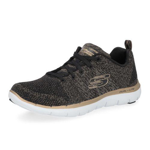 2018 El Nuevo Precio Barato SKECHERS Sneaker in tessuto Flex Appeal con soletta in Memory Foam Descuento Finishline Baúl Para Barato Auténtica Línea Barata kzTnm4Y