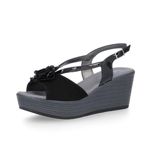 Sandalo In Italy Soffice Pelle Made Sogno Fiore Con PwONXkn08