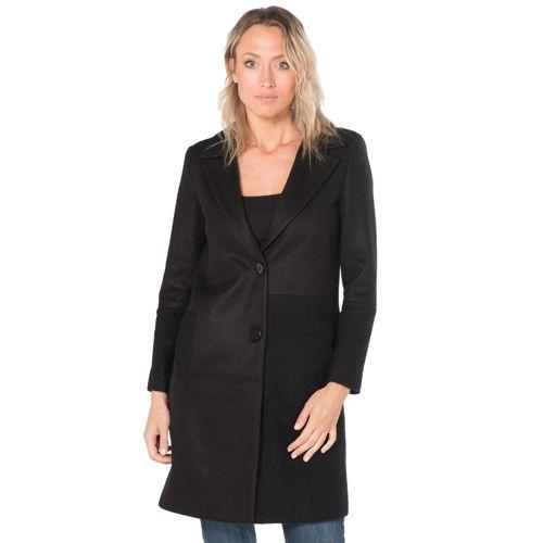 cheap for discount 13ab4 18867 CANNELLA Cappotto in panno e lana cotta