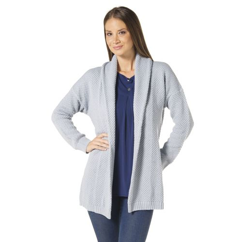 super carino prezzi economici ultimo design Isaac Mizrahi Live! Cardigan in maglia con collo a scialle e ...