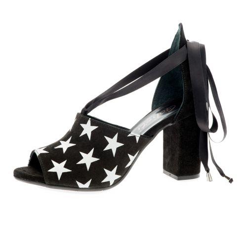 Última De Descuento Sandalo in pelle con lacci in raso e tacco 9cm qvc-moda neri Pelle Obtener Auténtica Línea zXYGW5RV6e