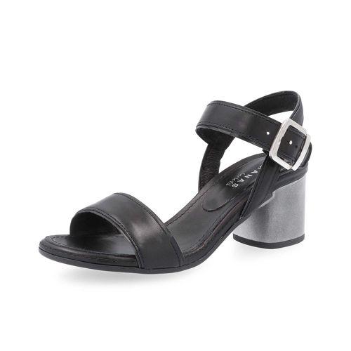 Manas Tacco Bordo E In Pelle Sandalo Contrasto Con 6cm zMSULpqVG