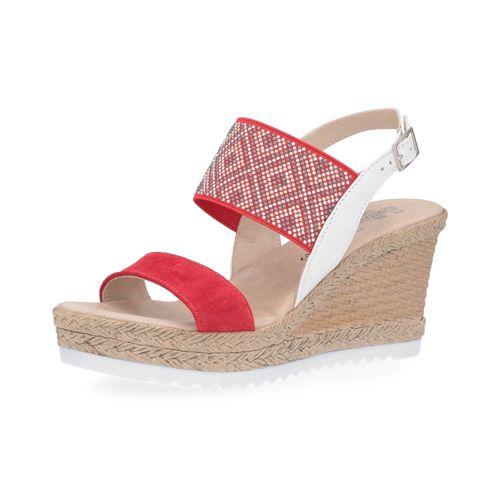 Con 5cm Pelle 8 Sogno Sandalo Soffice Borchiette E In Zeppa qUSzpGMVL