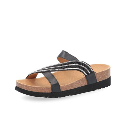 4cm Con Scholl Sandalo Perline Felisa Zeppa E RLjA345
