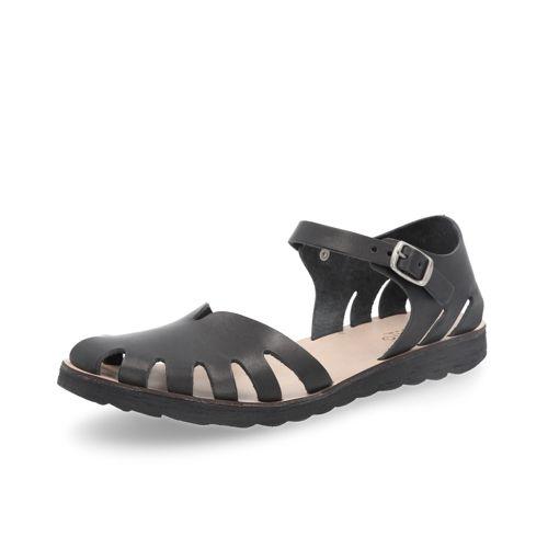 più popolare acquista per genuino il più grande sconto Khriò Sandali in pelle con punta traforata e cinturino con fibbia