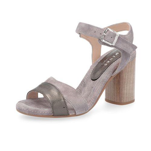 Scamosciata 8cm Sandalo Pelle Manas In Con Tacco nwONPk8X0
