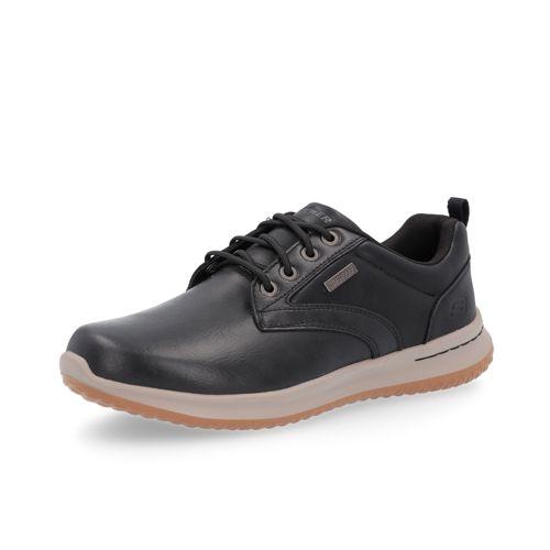 SKECHERS Sneaker da uomo Delson in pelle