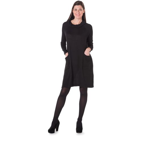Relaxante Le Longues Anybody Modern Robe Manches À Soul By Cou Avec y76fbg