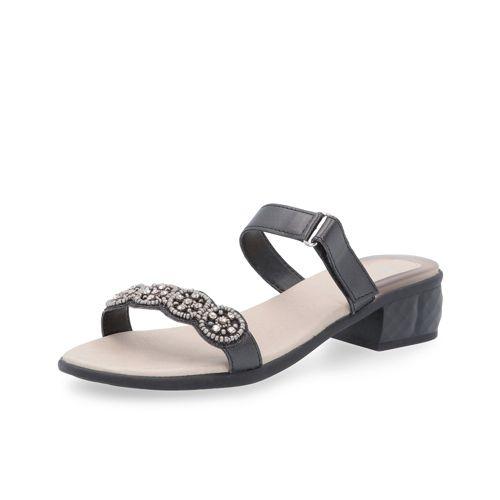 5 Scholl Euribia Con Velcro Tacco Gioiello 3 Sandalo 8Ok0XwPNn