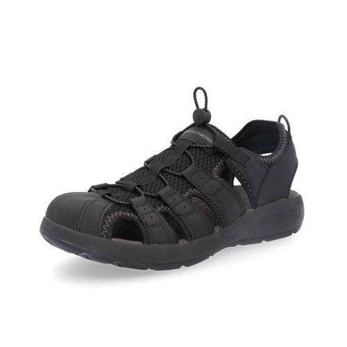 SKECHERS Sandalo da uomo Fisherman con lacci elastici
