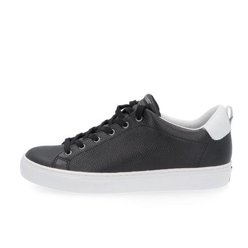 f3ab48c1ef SKECHERS Sneaker Street in pelle con soletta Memory Foam