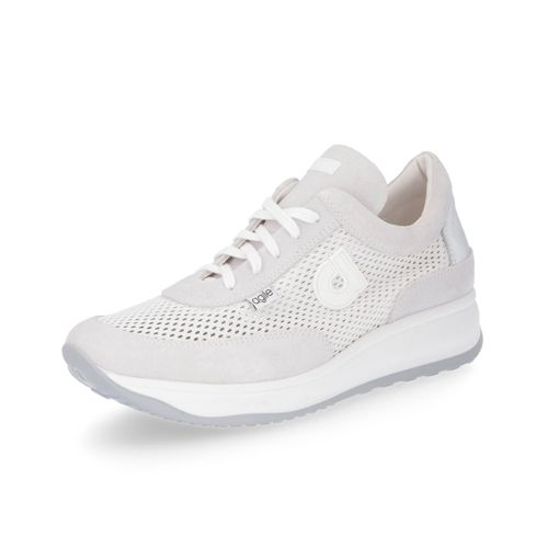 Nueva Llegada La Venta En Línea Sneaker con tomaia motivo traforato e zeppa 4cm qvc-moda bianco Amplia Gama De Bajo Costo Venta En Línea De Bajo Coste Barato WHtYrxe