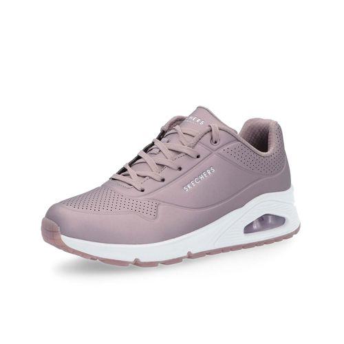 3dd4d78683 SKECHERS Sneaker Uno con tomaia metallizzata