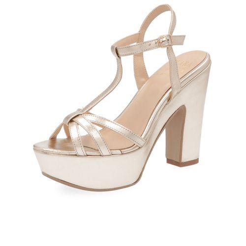Venta Precios Baratos Pre Orden En Línea Sandalo con fascette incrociate e tacco 13cm qvc-moda Elegante 6LuLdG