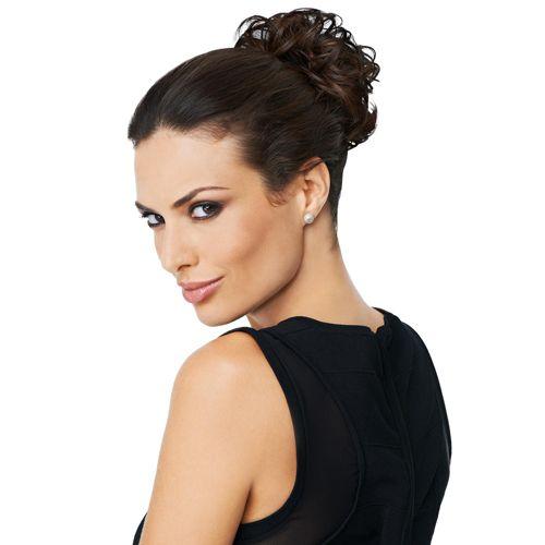 Hairdo Curly Do Elastico con capelli mossi in fibra Tru2Life - QVC Italia 118ace864a18
