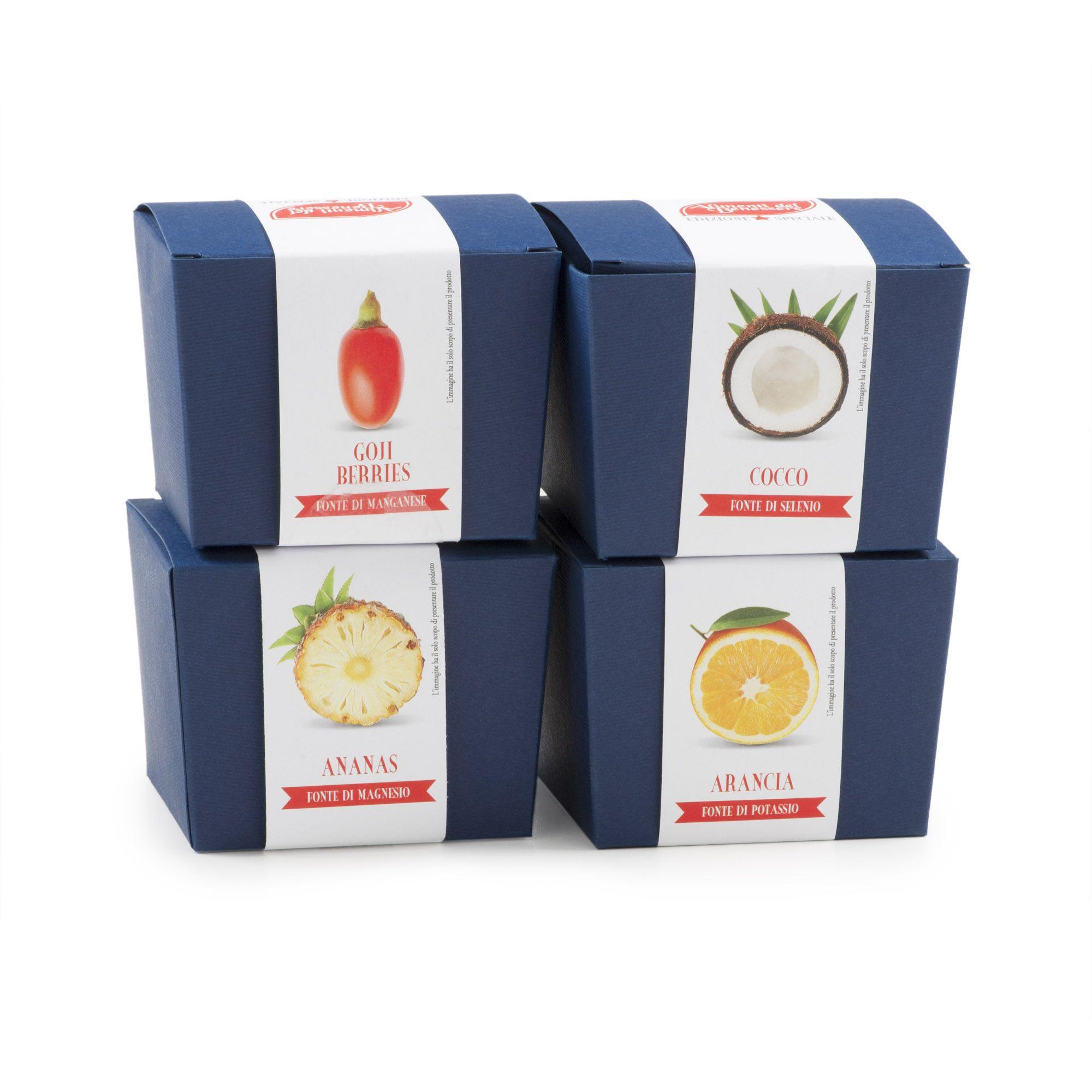 Gli alimenti del benessere frutta disidratata bacche di goji arancia cocco e ananas qvc italia - Qvc marchi cucina ...