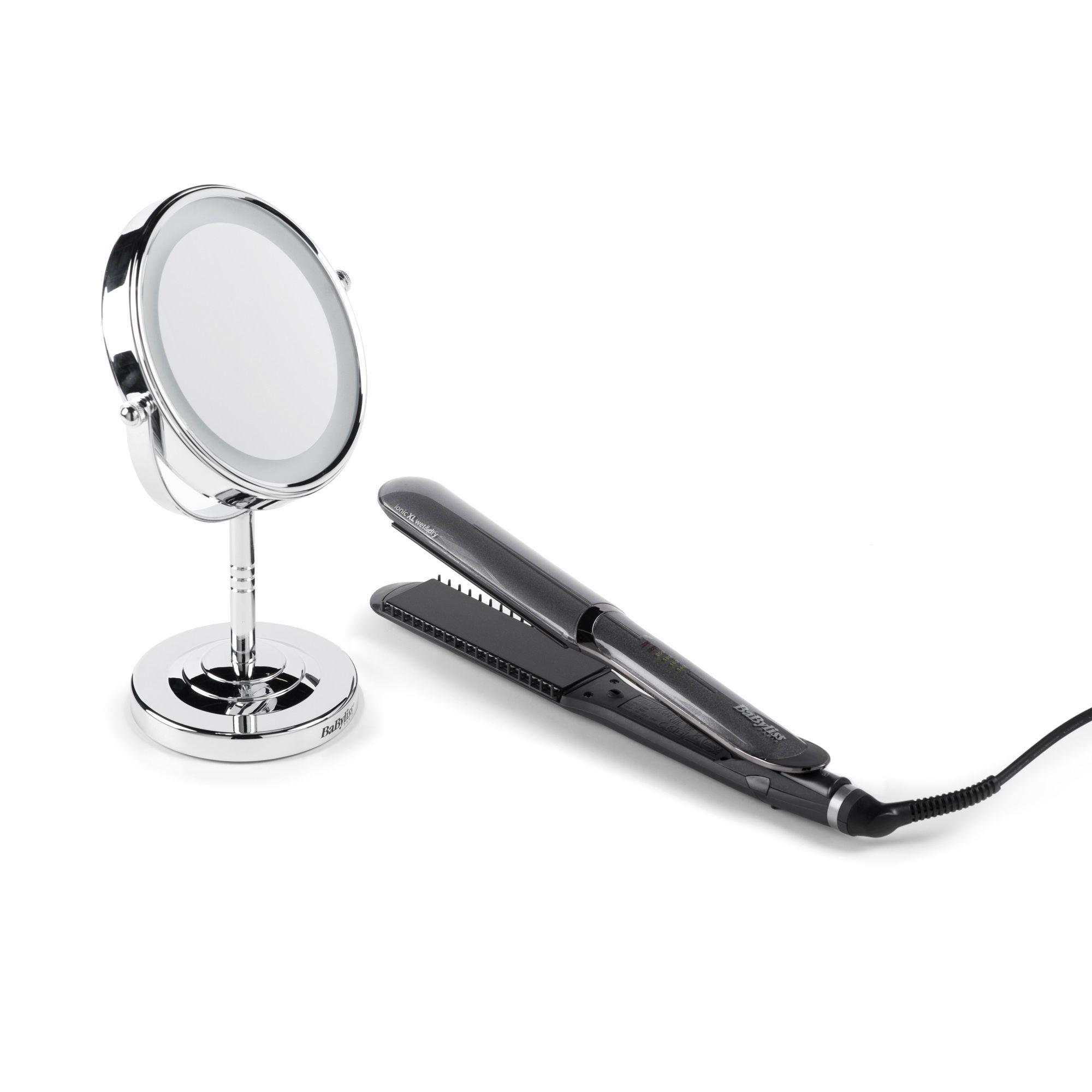 Babyliss hair beauty piastra lisciante diamond ceramic specchio qvc italia - Specchio diamond riflessi prezzo ...