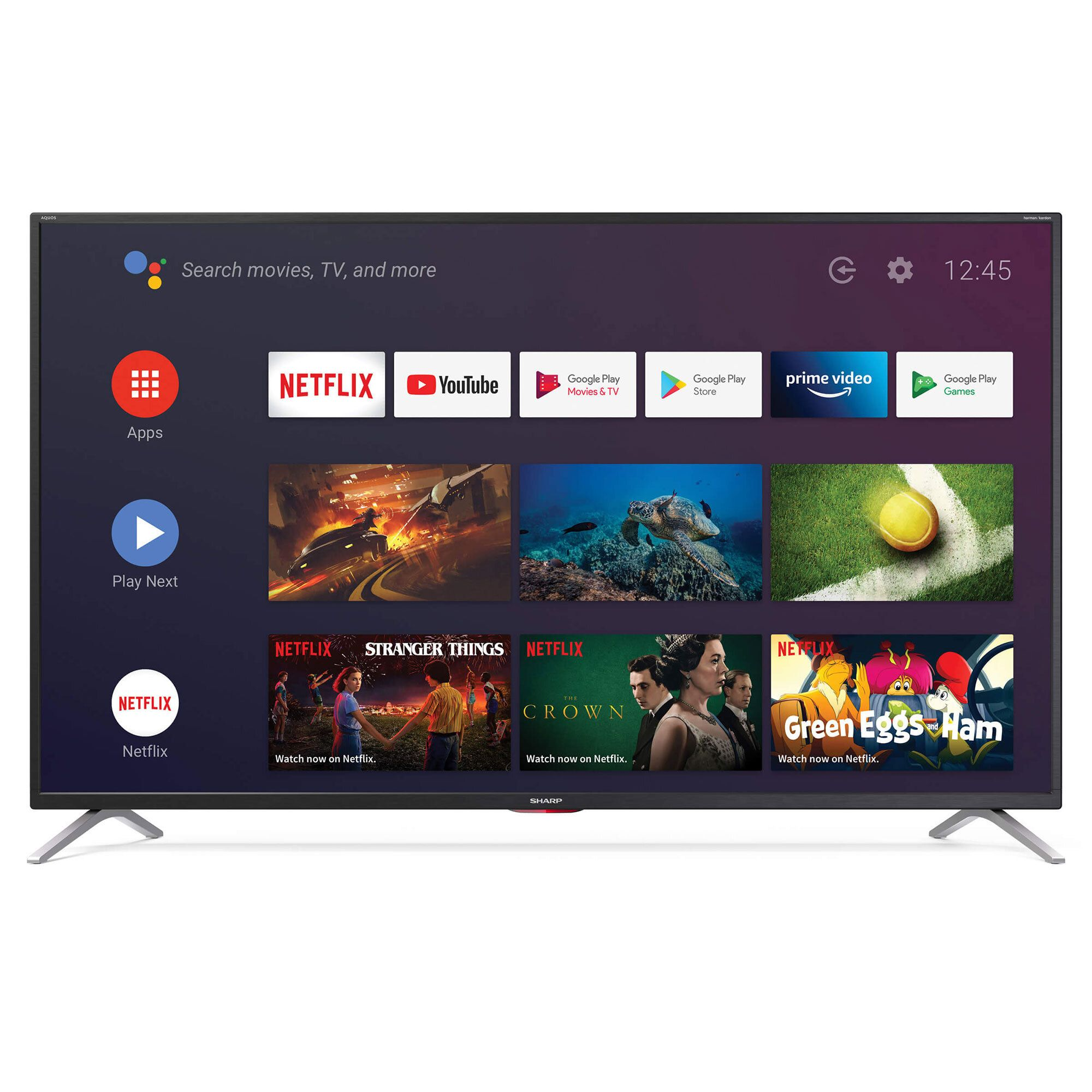 "Image of Smart TV 65"""" 4K Android 9, 4 X HDMI Wi-Fi"