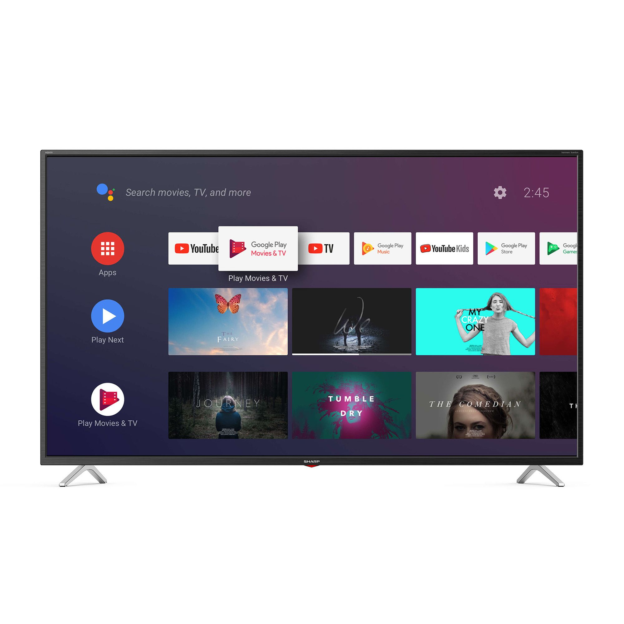Image of BL3EA Smart TV 4K Ultra HD in più formati