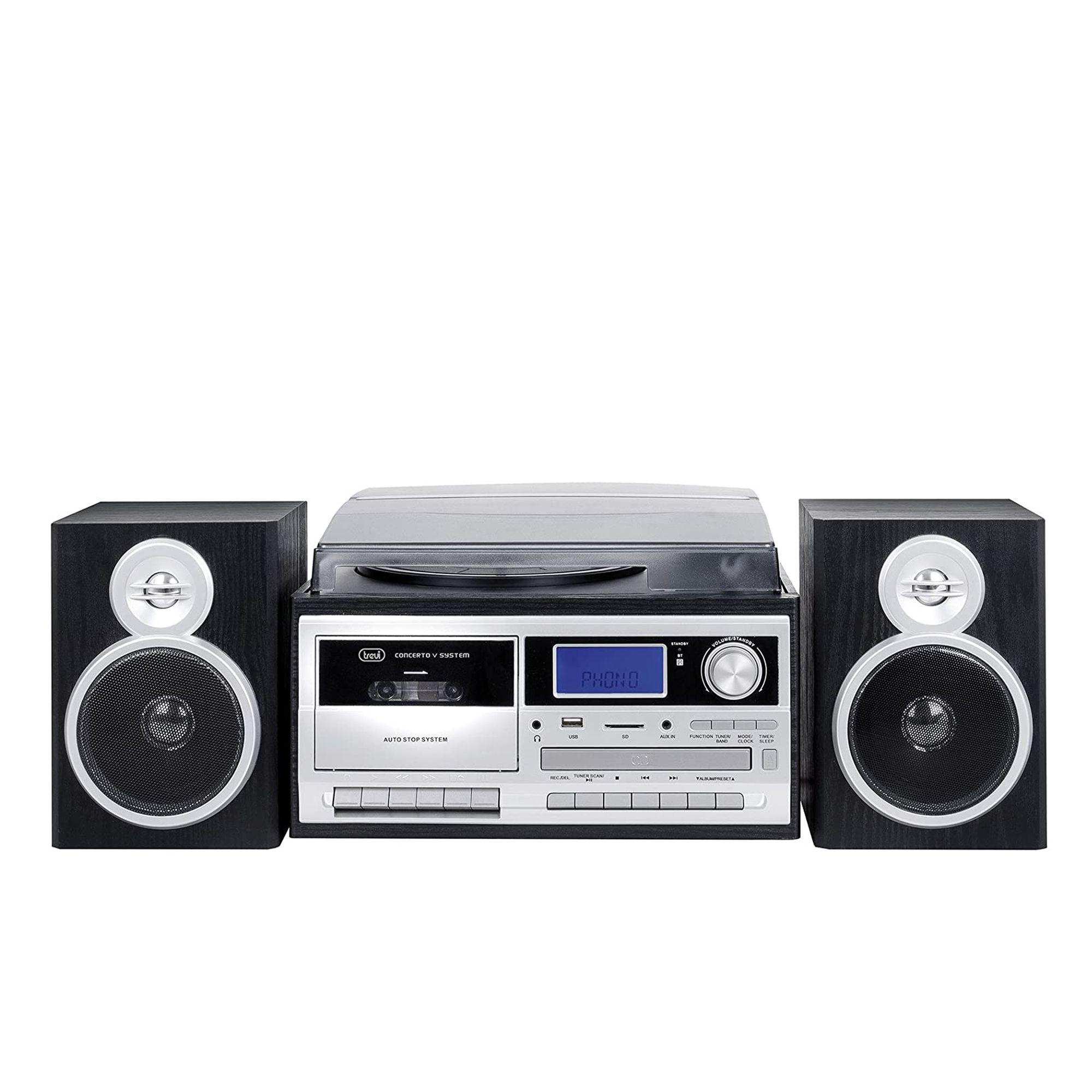 Image of TT 1070 Giradischi 33,45 e 78 giri con CD e radio