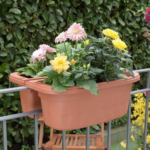 Bama fioriera klunia vaso doppio con riserva d 39 acqua e for Fioriera bama