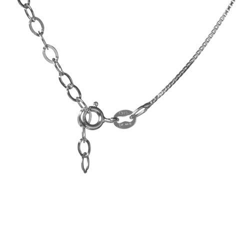 pensieri su il più votato genuino Liquidazione del 60% Le Scintille Pendente con pavé di cristalli e catena in argento 925