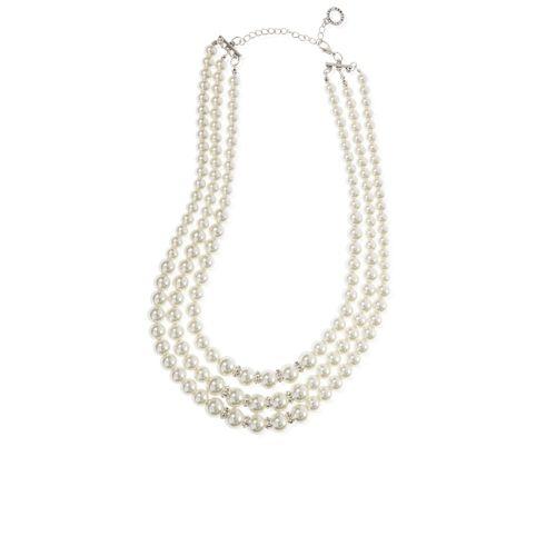 nuova selezione più vicino a grande sconto OTTAVIANI Collana multifilo con perle in vetro e cristallo