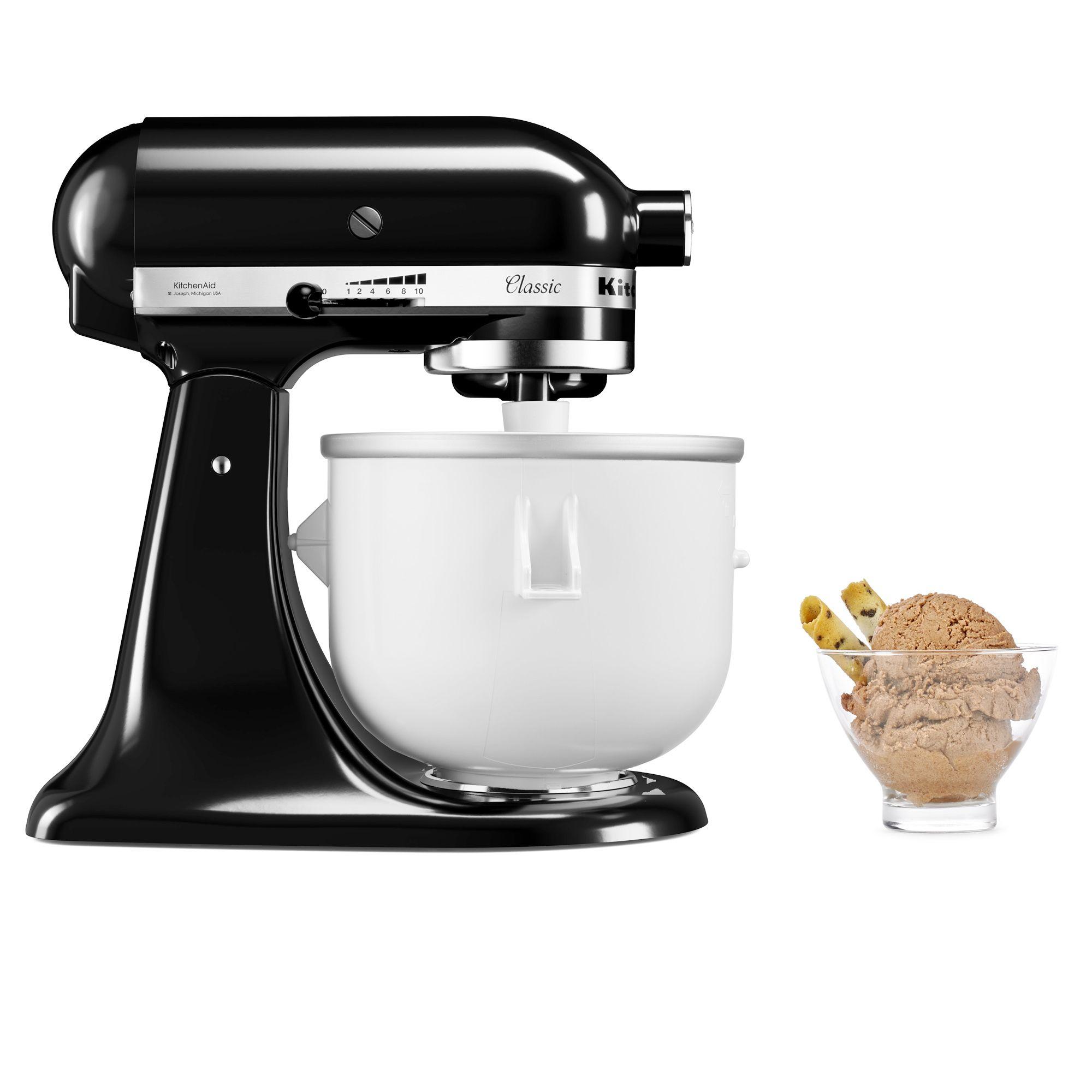 Kitchenaid accessorio per gelato con cestello refrigerante qvc italia - Qvc marchi cucina ...