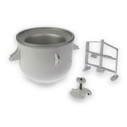 Kitchenaid accessorio per gelato con cestello refrigerante qvc italia - Gelato kitchenaid ...