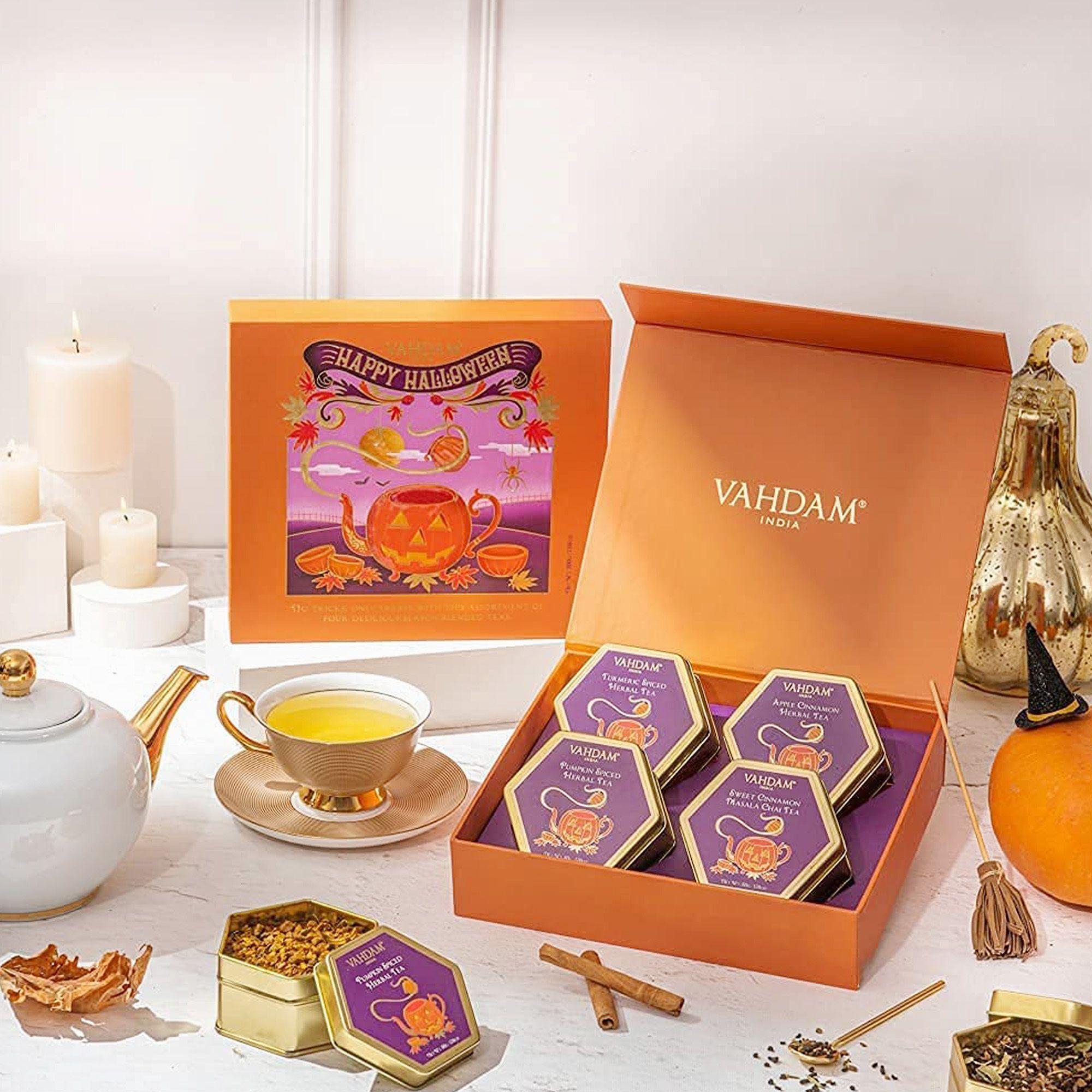 Selezione 4 tè e tisane in scatola regalo