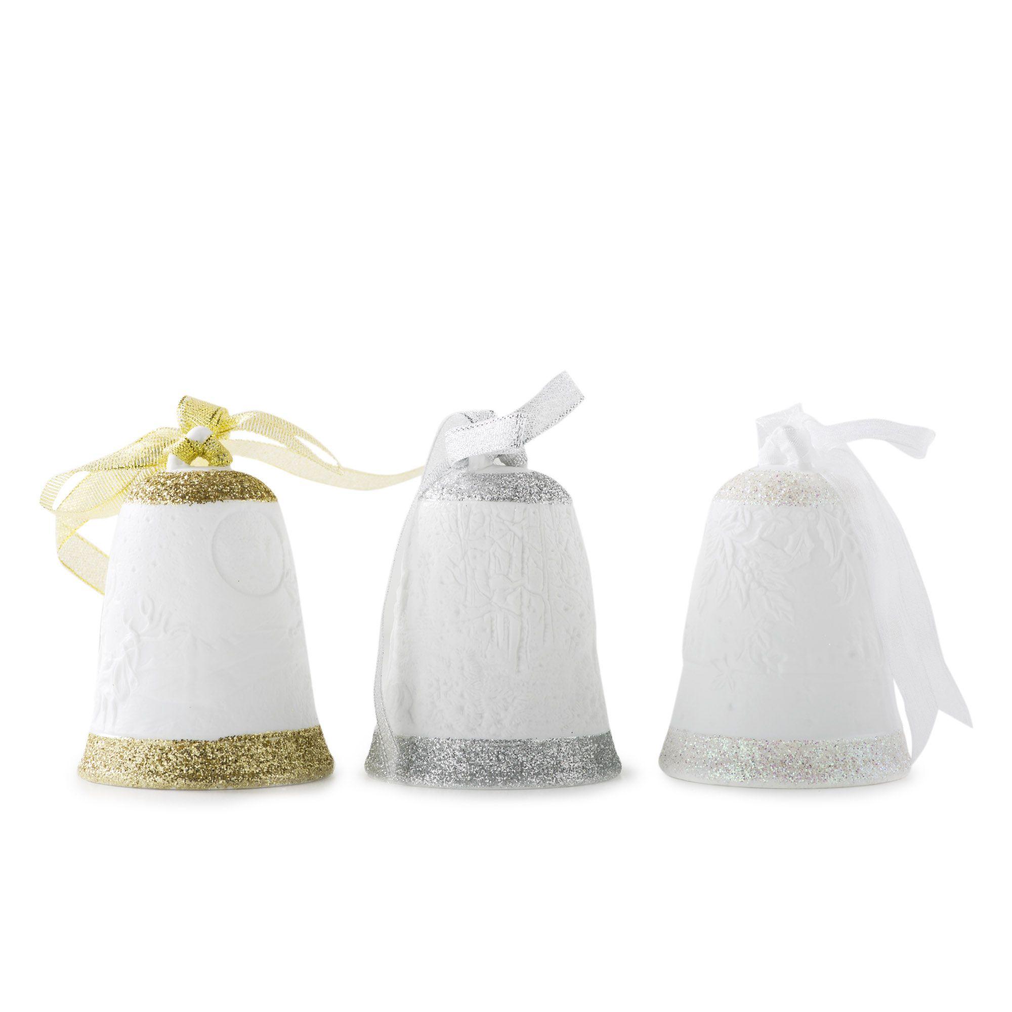 Bella notte 3 campane in porcellana decorata per - Qvc marchi cucina ...