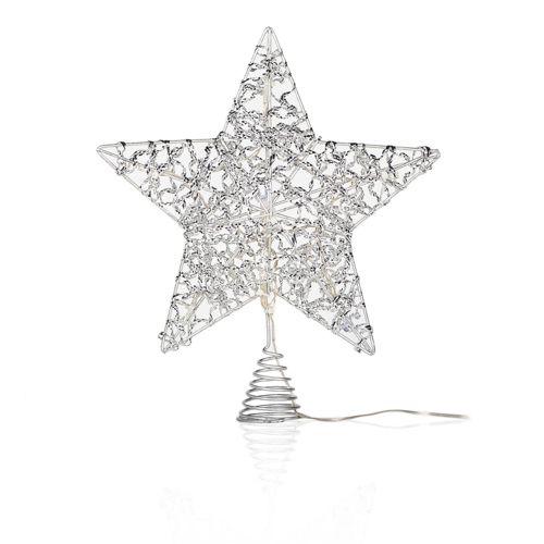 Puntale A Stella Per Albero Di Natale.Blachere Puntale A Stella Con Led Bianchi E Multicolore Qvc Italia