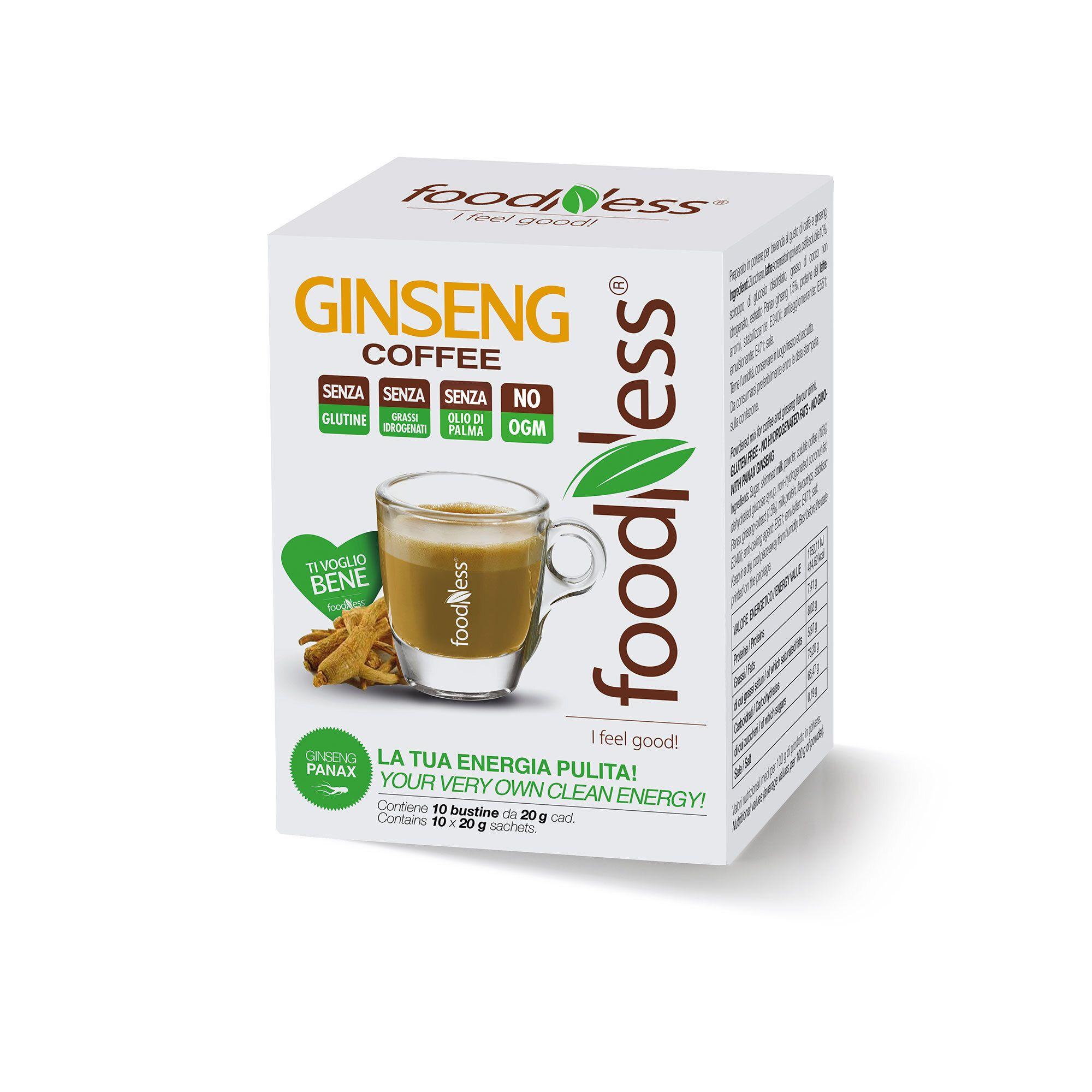 Set 3 box con Ginseng coffee o Golden Milk curcuma