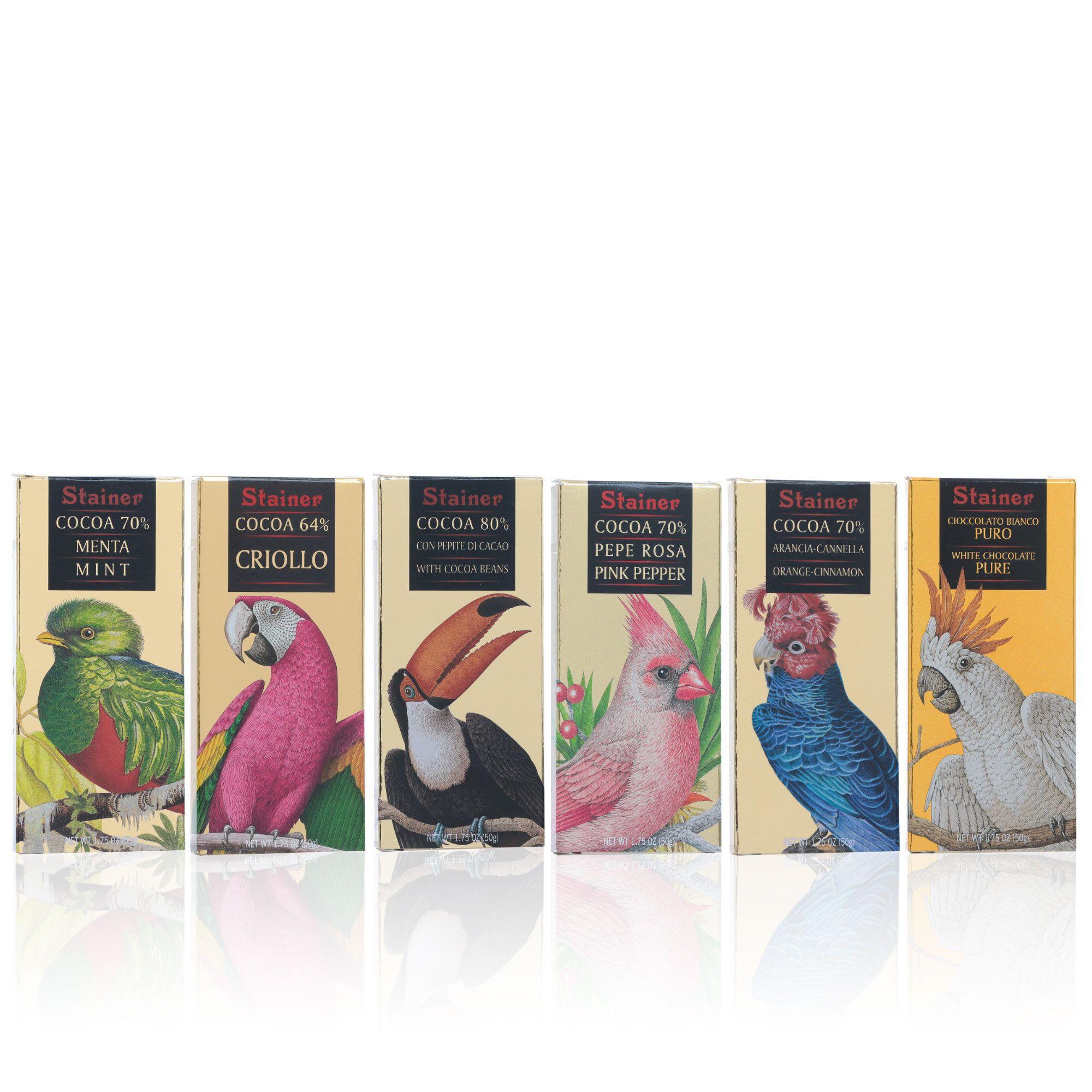 Image of Linea Oro Gli Uccelli 6 tavolette assortite
