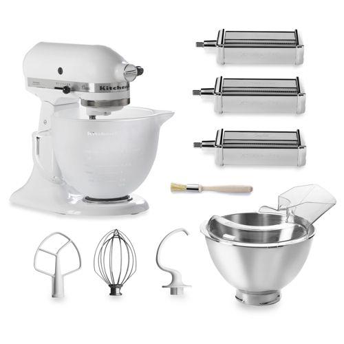 kitchenaid robot da cucina classic con 3 accessori pasta e ciotola ... - Kitchenaid Robot Da Cucina