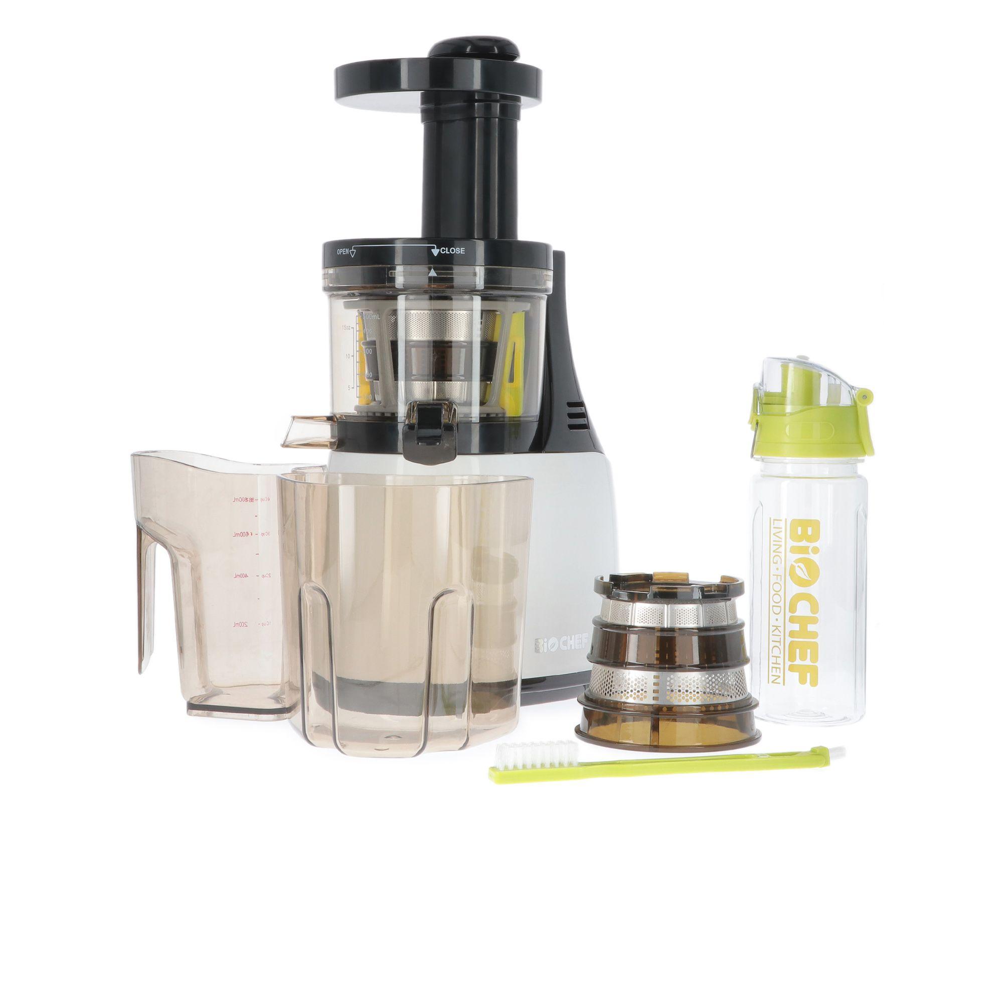 Slow Juicer Synergy Estrattore di succo, 2 filtri e bottiglia