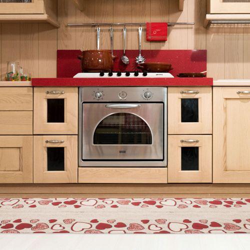 71027cf458 By Suardi Tappeto antiscivolo Hearts made in Italy - QVC Italia