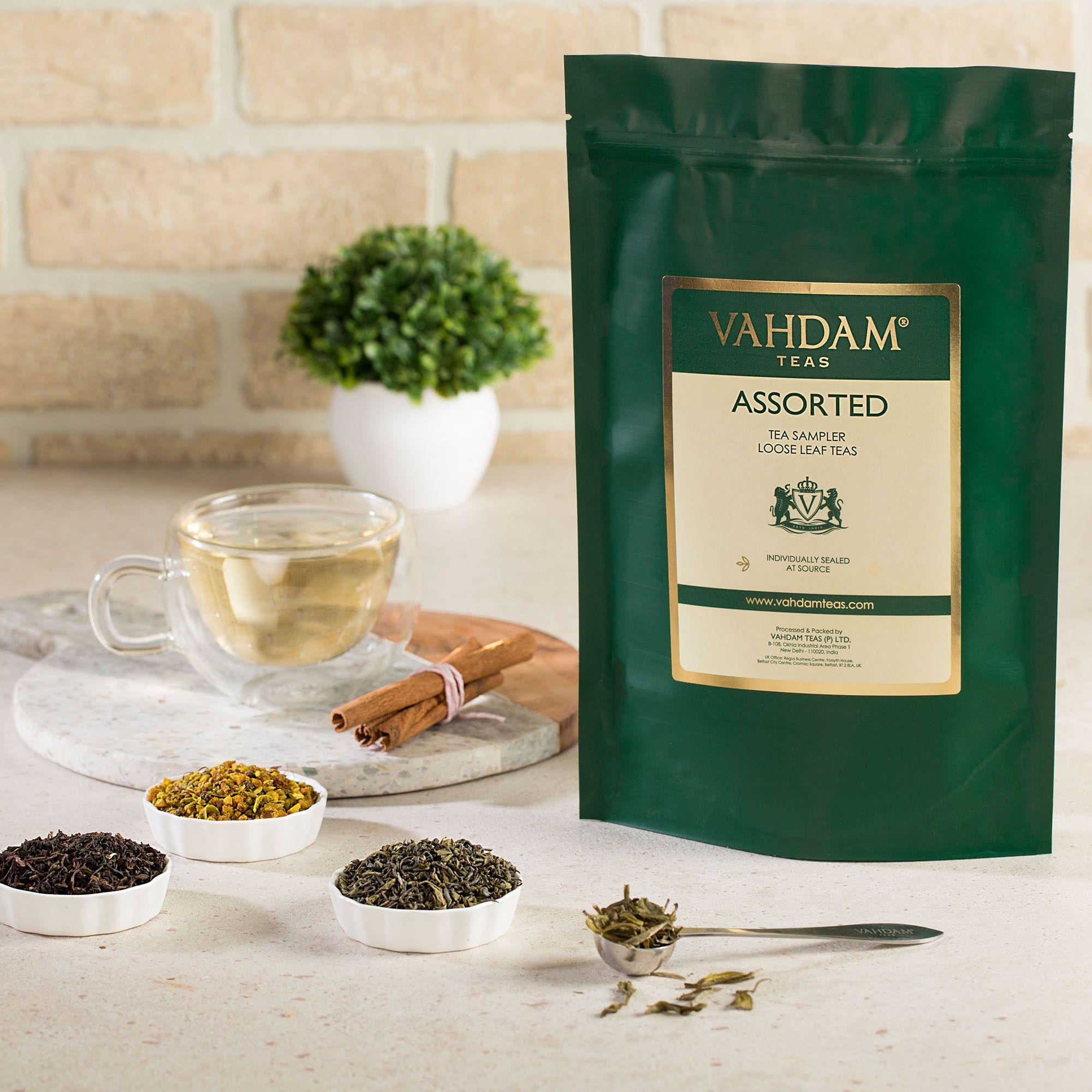 Selezione: tè nero, Chai, tè verde, tè Oolong