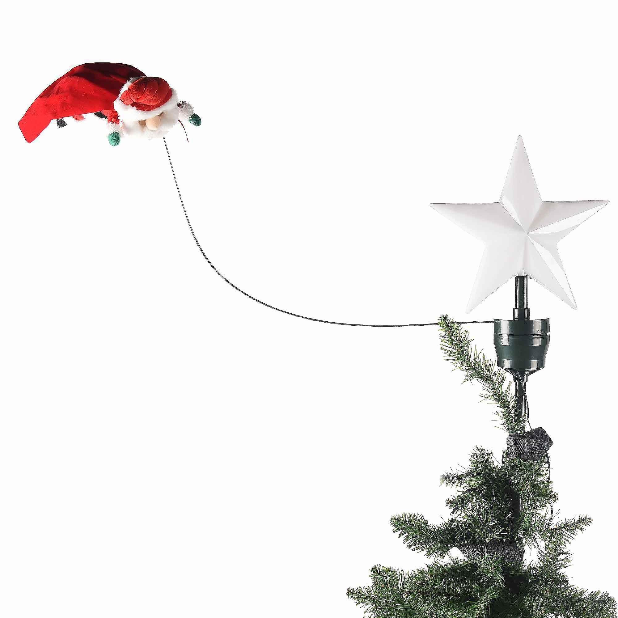 Puntale_albero_stella_Babbo_Natale_mr_christmas