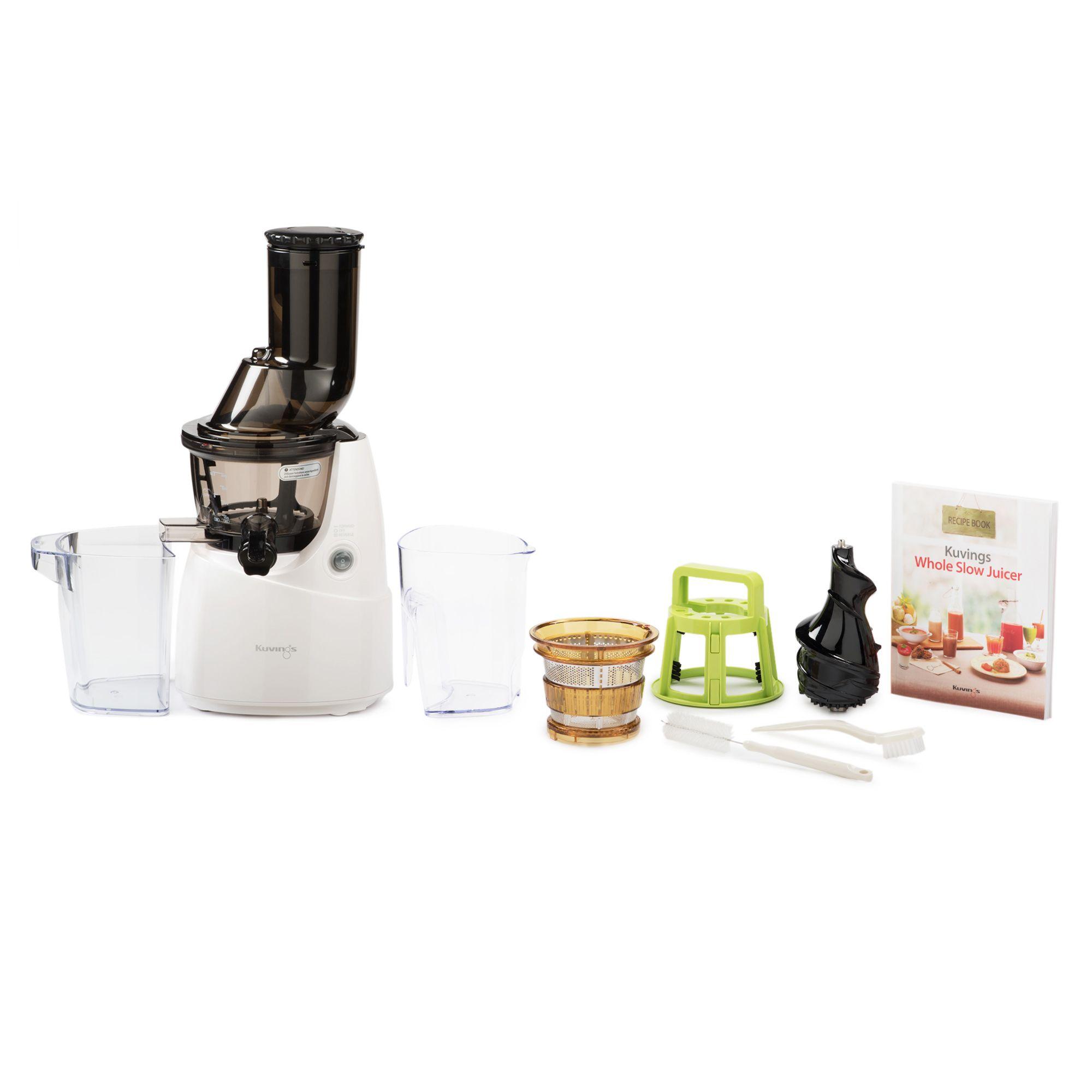 Kuvings whole slow juicer b6000 a bocca larga con accessorio filtro qvc italia - Qvc marchi cucina ...