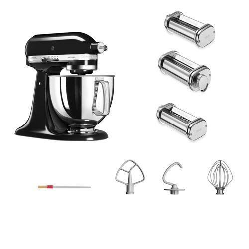 KitchenAid Artisan 5KSM125 Robot da cucina con 3 accessori - QVC Italia