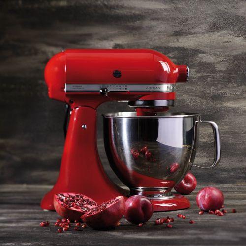 kitchenaid artisan 5ksm125 robot da cucina con 3 accessori qvc italia. Black Bedroom Furniture Sets. Home Design Ideas