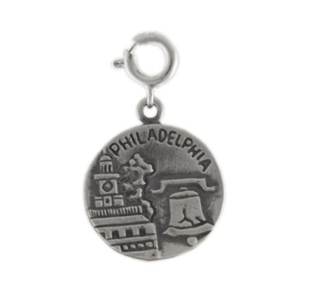 Sterling Philadelphia Charm